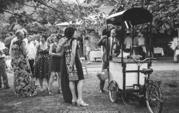 Le Triporteur photobooth lors de son 1er mariage