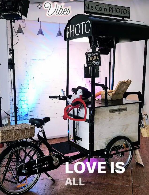 Le triporteur photobooth