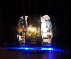 Soirée concert pour la télécabine photobooth